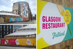 Glasgow Restaurant Festival branding and design