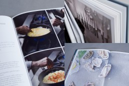 Cook book design and photography