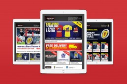 Greaves Sports retail advertising campaigns.